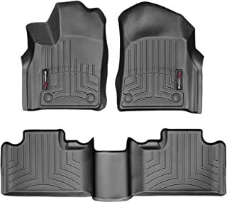 WeatherTech Custom Fit Floor Liner for Grand Cherokee/Durango - 1st & 2nd Row (Black)