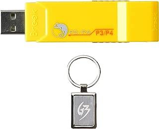 Gam3Gear Brook ZPP004Q PS3 / PS4 para PS3 / PS4 Súper convertidor adaptador de videojuegos Controlador con llavero GRATIS