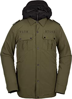 Men's Creedle2stone Military Style Snow Jacket