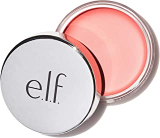 e.l.f. Cosmetics Beautifully Bare Cheeky Glow Blush, Cream to Powder Formula Creates a Natural Glow, Soft Rose