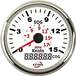 Durable Auto Motorcycle 85mm GPS Speedometer 0-140MPH Odometer Mileage Adjustable Overspeed Alarm Gauge Lightweight