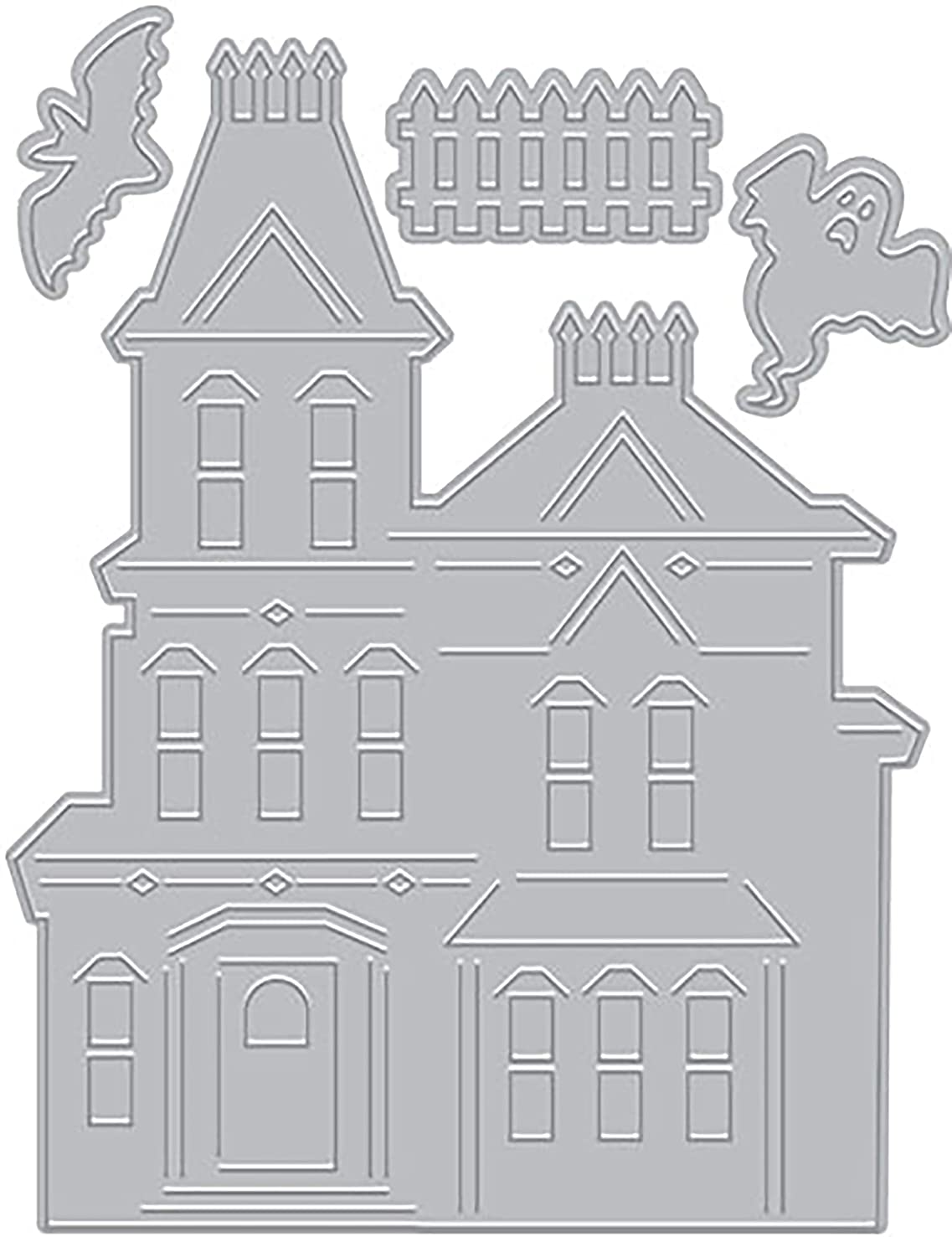 Paper Layering Haunted House (D)