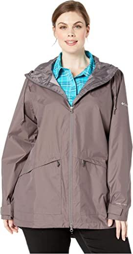 644a78dac5 Columbia Plus Size Heavenly Long Hooded Jacket at Zappos.com
