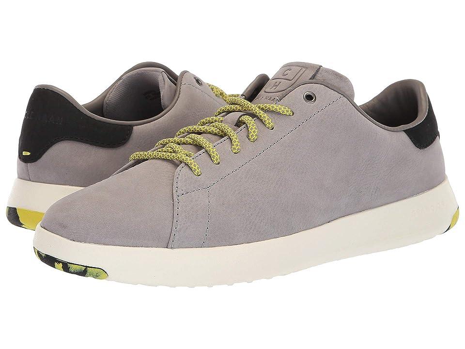 Cole Haan GrandPro Tennis Sneaker (Ironstone Nubuck/Sulpher Spring) Men