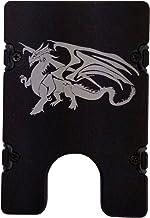 product image for HMC Billet Dragon RFID Protection Credit Card Holder Aluminum Wallet, Black