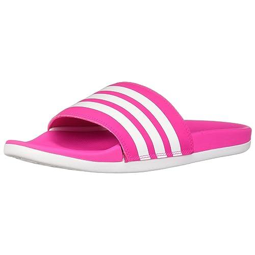 989fe163b555 adidas Women s Adilette Cloudfoam+ Slide Sandal