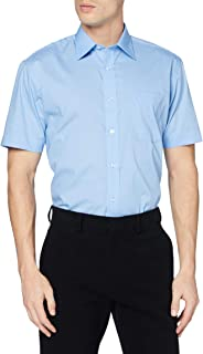 Kustom Kit Men's Short Sleeve Classic Fit Business Shirt