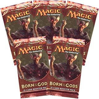 6 (Six) Packs of Magic: the Gathering - MTG: Born of the Gods Booster Pack Lot