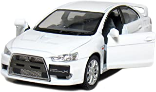 5 2008 Mitsubishi Lancer Evolution X 1:36 Scale (White) by Kinsmart
