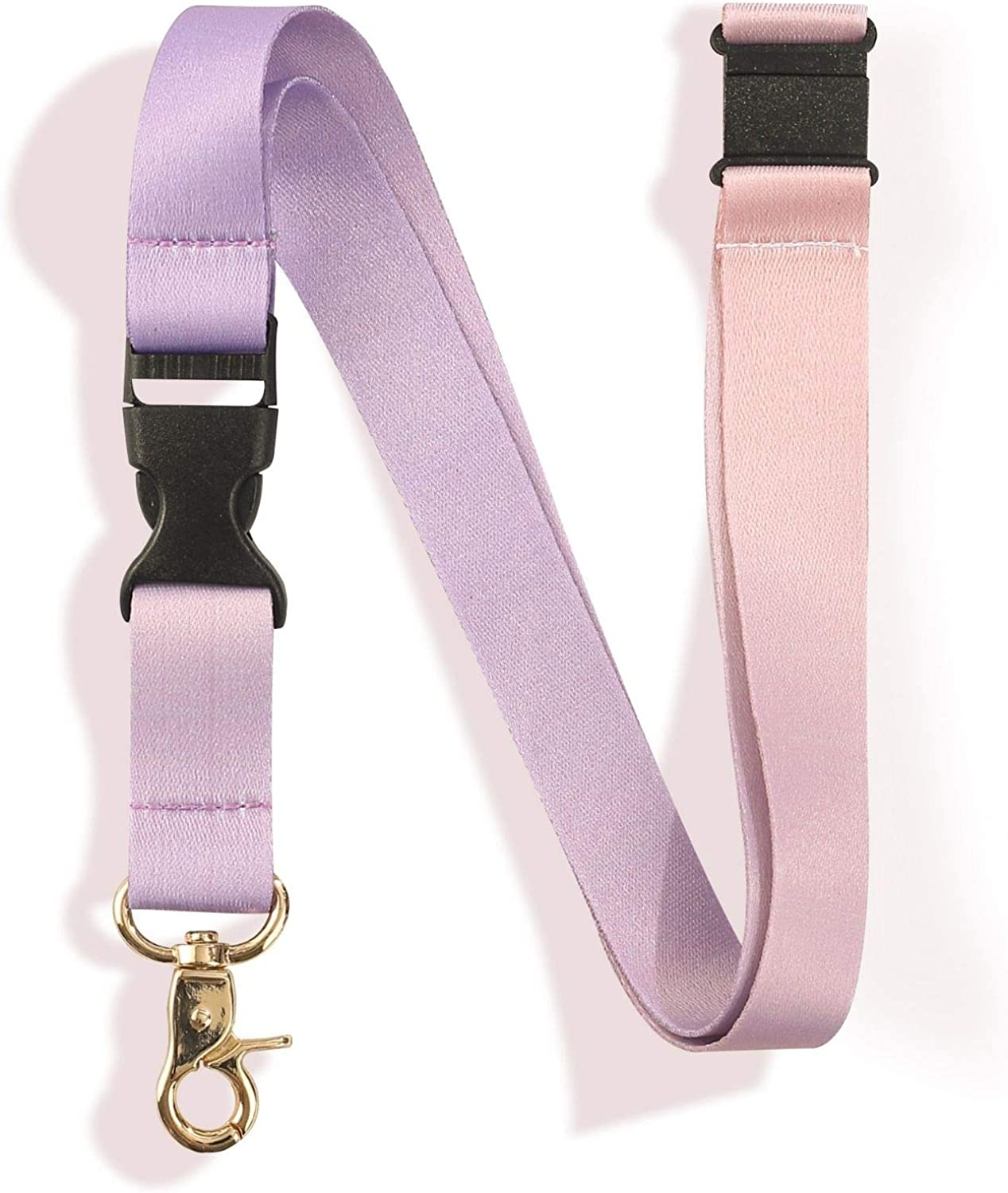 Lanyard Neck Strap Keychain Cute Detachable Lanyard with Quick Release Buckle