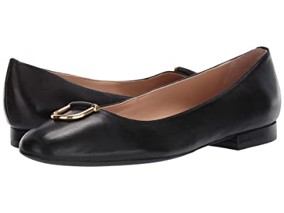 LAUREN Ralph Lauren Galyn (Black Super Soft Leather) Women