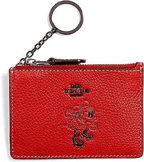 Women's Boxed Minnie Mouse Mini Skinny ID Case ¿Disney x COACH