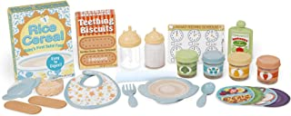 Melissa & Doug Mine to Love Mealtime Play Set (Doll Feeding Accessories, 24 Pieces, Great Gift for Girls and Boys - Best for 3, 4, 5, 6, and 7 Year Olds)