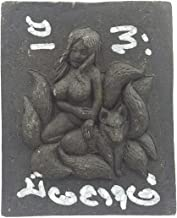 Thai amulets Thep Goddess Fox lady with 9 tails bring lucky fortune gambling luck wealth success business