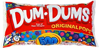 Dum Dum Pops 85.5 oz, 500-Count (Pack of 3)