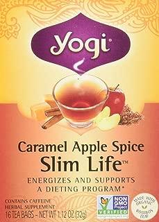 Yogi Tea Co Organic Caramel Apple Spice Snack Tea - 16 per pack -- 6 packs per case.