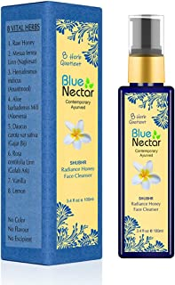 Blue Nectar Ayurvedic Honey & Aloevera Face Wash For All Skin Types - 100 Ml