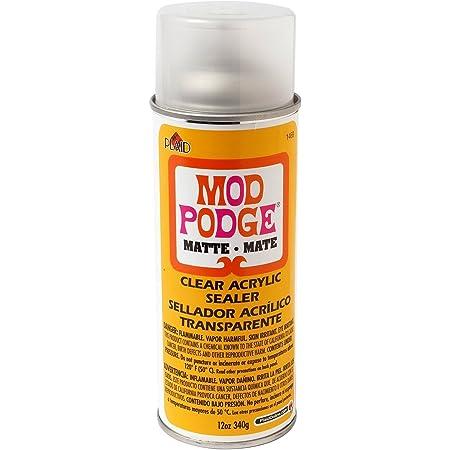 Mod Podge Clear Acrylic Sealer (12-Ounce), 1469 Matte 2 Pack