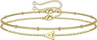 دستبندهای اولیه طلای نازک ، دستبندهای طلای شخصی 14K طلای دستبند دستبندهای طلای شخصی زنان نوجوان دستبندهای زنجیره ای طلا و جواهر برای کودکان نوپا دختران کوچک