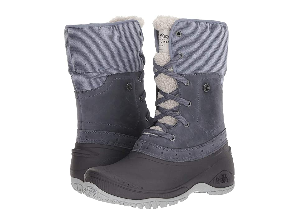 The North Face Shellista Roll-Down (Grisaille Grey/Weathered Black) Women