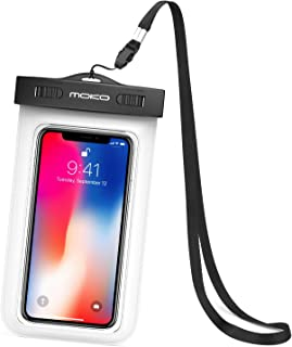 MoKo Waterproof Phone Pouch, Underwater Waterproof CellPhone Case Dry Bag with Lanyard Compatible with iPhone 11/11 Pro/11...