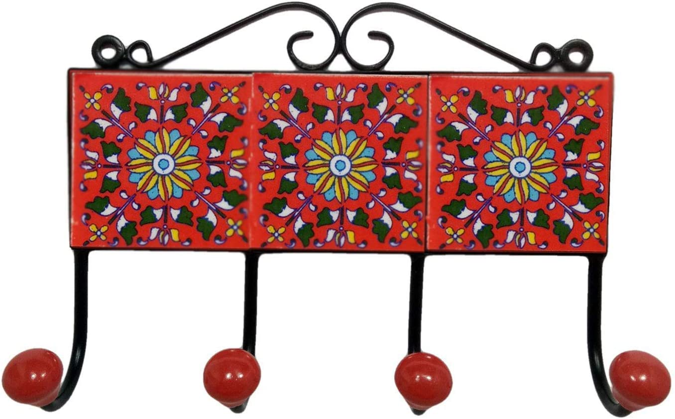 India Meets Christmas Handmade Wall Hanger K New mail sold out order Coat Hook Key
