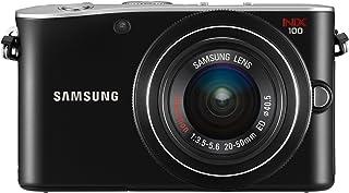Samsung NX100 Systemkamera (14,6 Megapixel, 7,6 cm (3 Zoll) Display, HD Video, Bildstabilisation) inkl. 20 50 mm i Function Objektiv schwarz