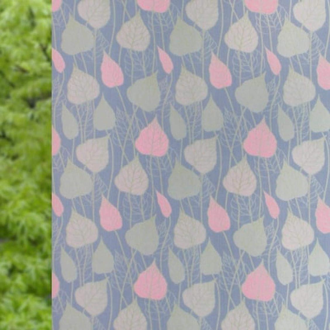 コンバーチブル前奏曲禁止Claresnce DIY ホームデコレーション ガラスステッカー ウィンドウフィルム ロング 自己粘着フィルム ウィンドウフィルム 曇りガラス スライドドア バスルーム ウィンドウステッカー 半透明 不透明 ホームデコ 幅17.7 x 長さ35.4