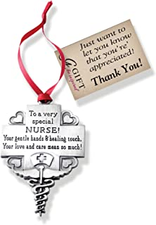 Cathedral Art CO764 Nurse Occupation Ornament, 2-1/4-Inch