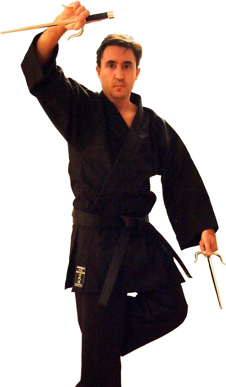 Kamikaze America-Kobudo Karate Gi Jacket 5%OFF 100% 商い Cotton Black Only
