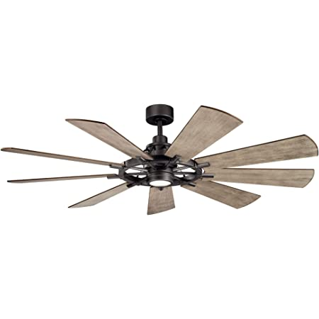 Kichler Lighting 300265avi Gentry Ceiling Fan With Light Kit With Lodge Country Rustic Inspirations 16 5 Inches