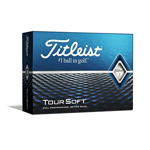 Titleist Tour Soft Golf Balls 2020