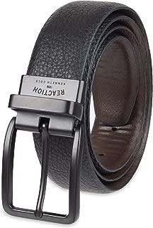 Men's Reversible Feather-Edge Belt, Black/Brown