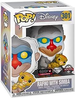 Funko POP! Diamond Collection - Disney [#301] - Rafiki with Simba - Hot Topic Exclusive!