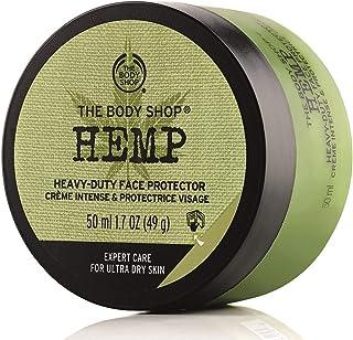 محافظ صورت بدن Body Shop Hemp ، کرم صورت بدون پارابن ، 1.7 Oz.