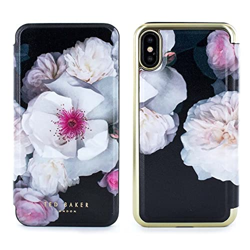 ab3a1097e776 Official TED BAKER® NALIBISE Fashion Branded Mirror Folio Case for iPhone X    XS