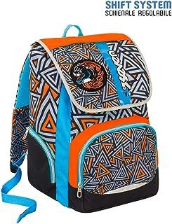 Soft Backpack Seven SJ HIGH TECH Boy Green Blue