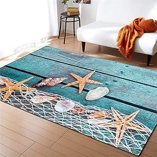RedBeans Nautico Corda in Orizzontale Stile Marine Army Sea Life Ocean Pacific Art Set tappetini Tappeto da Bagno Divertente Bagno tappeti Graphic Set da Bagno 3/Pezzi Antiscivolo Tappetino WC Set