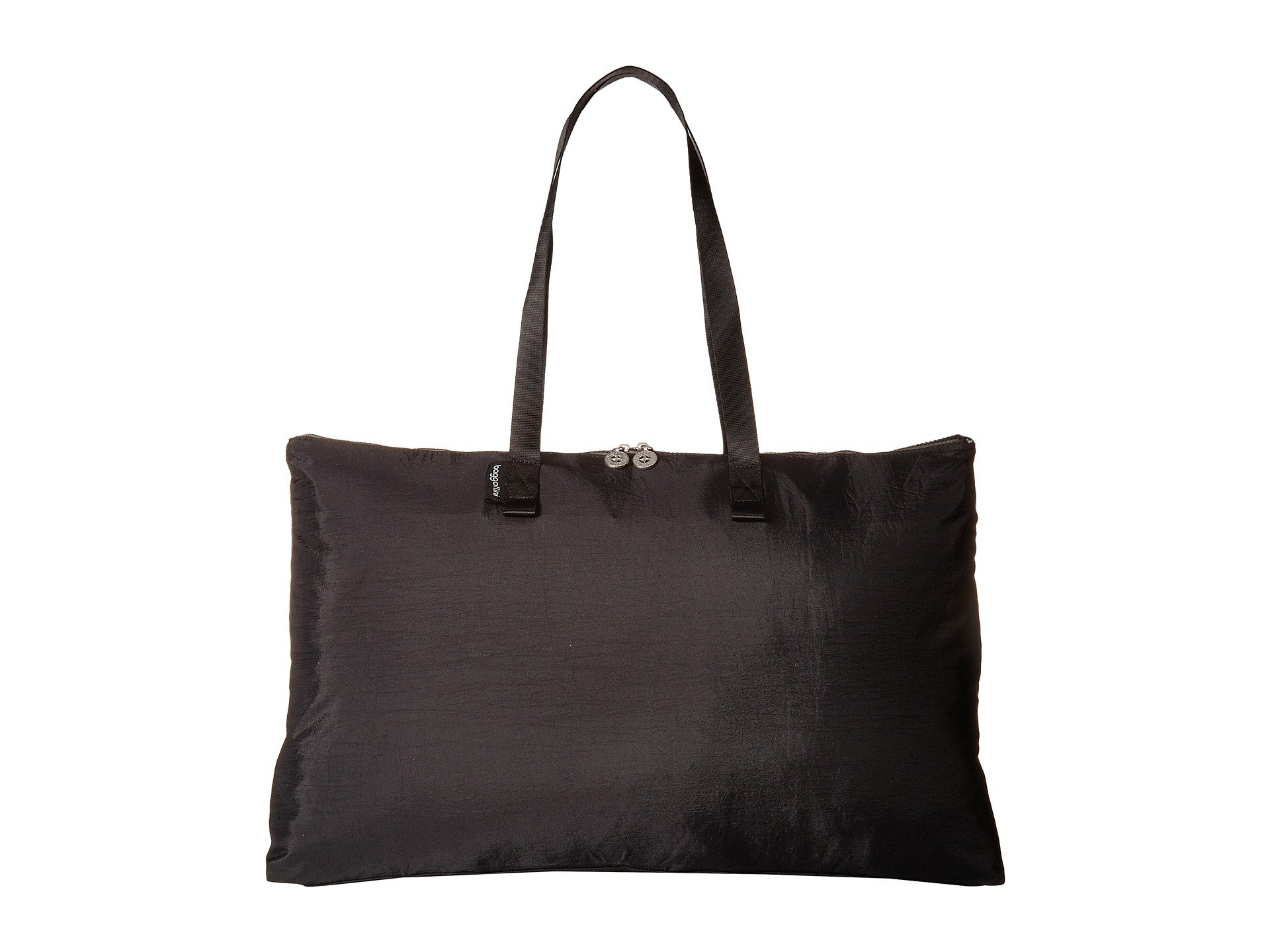 Foldable New Classic Tote charcoal Travel Baggallini Black zZxw0