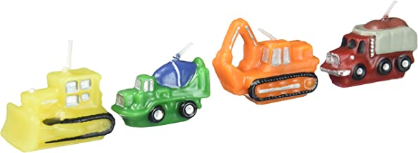 Construction Vehicles Birthday Candles by Wilton