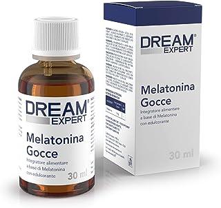 Melatonina Pura Gocce per Dormire Dulàc Dream Expert, Melatonina Gocce 30 ml (più di 2 mesi trattamento), Melatonina per D...