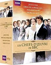 Chefs-d'oeuvre de la BBC: Orgueil & préjugés + Jane Eyre + Nord & Sud + Parade's End [Francia] [DVD]