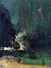 James McNeill Whistler Nocturne in Black and Gold: The Falling Rocket - 21