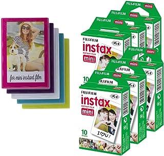 Fujifilm Película Instax Mini 60 fotos, marcos