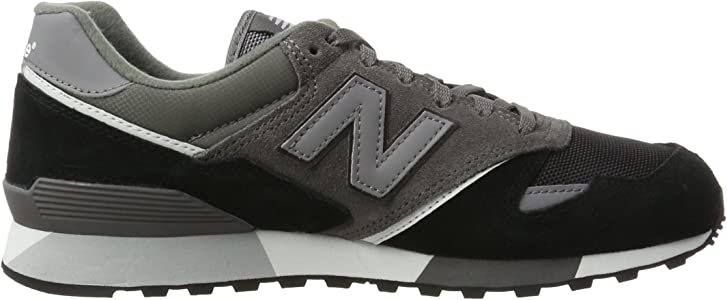 Amazon.com   New Balance Men's U446LGK, Grey/Black, 4 D US   Shoes