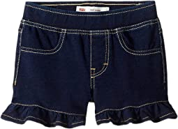 Ruffle Knit Shorts (Little Kids)