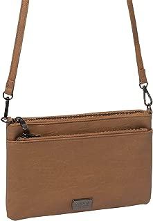 Caramel Demi Double Crossbody Bag