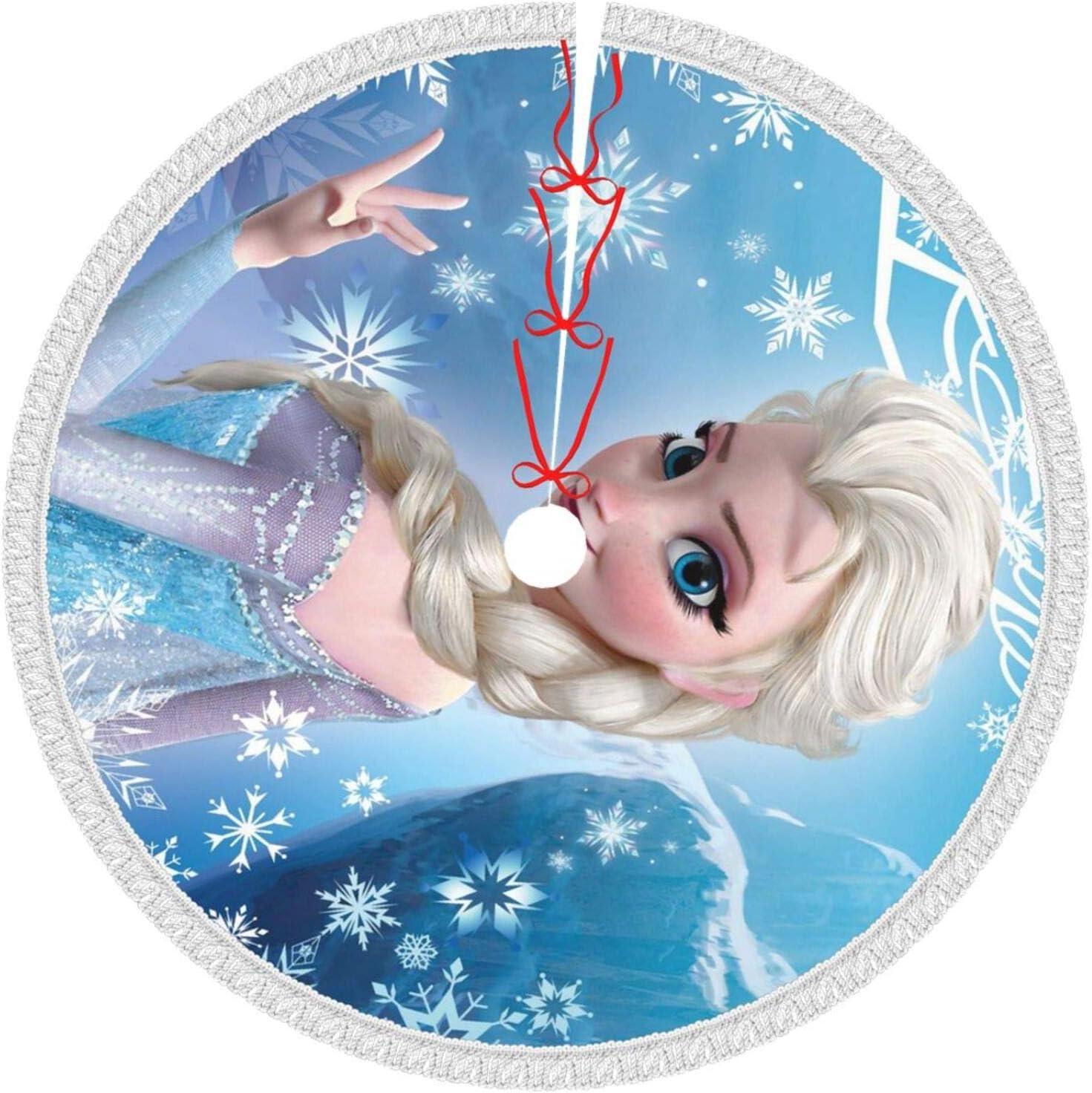 Nicjoy Christmas Tree マーケット お歳暮 Skirt Decorations Ye New Outdoor