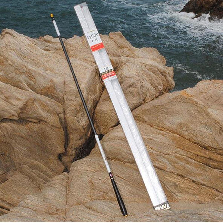 LZH Teleskop-Angelruten Portable Carbon Fiber Spinnfischstange für Karpfenangeln