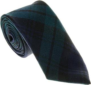 100% Wool Traditional Tartan Neck Tie - Blackwatch